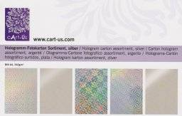 Hologram kartonpakket zilver | Cart us