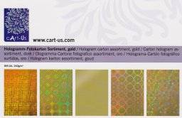 Hologram kartonpakket goud | Cart us