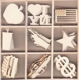 Houten ornamentbox 1576 newyork | Artemio