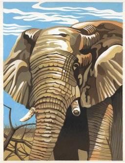 Schilder nummer ppnj209 olifant | Reeves