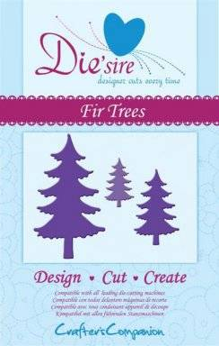 Die-sire fir trees | Crafters companion