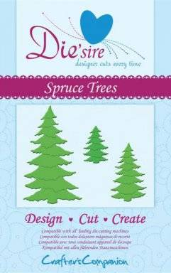 Die-sire spruce trees | Crafters companion