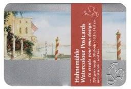 Watercolour postcards in blik | Hahnemuhle