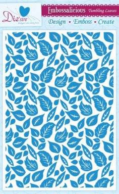 Embossalicious tumbling leaves | Crafters companion