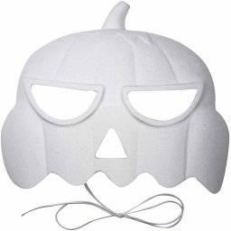 Kunststof masker pompoen