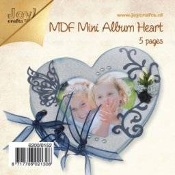 Mdf mini album hart 6200/0152 | Joy