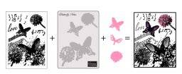 3 in 1 set butterfly notes 400 | Couture creations