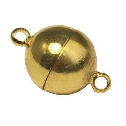 Magneetsluiting rond goud | Rayher