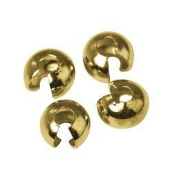 Sierkapje knijpkraal goud 393-06 | Rayher