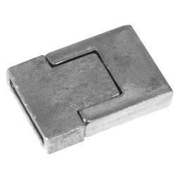 Magneetsluiting armband platina | Rayher
