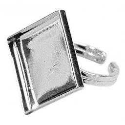 Ring met motiefvorm 4kant 356-22 | Rayher