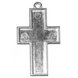 Sieraadvorm kruis zilver | Rayher