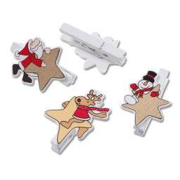 Wasknijpers kerstster 8004931 | Knorr prandell