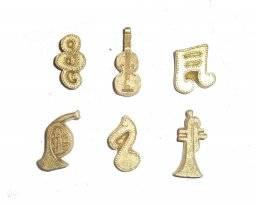 Goud ornamenten muziek 8009505 | Knorr prandell