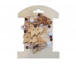 Koord met bomen hout 8004830 | Knorr prandell