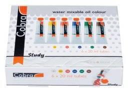 Cobra study set 6 tubes 20ml | Talens