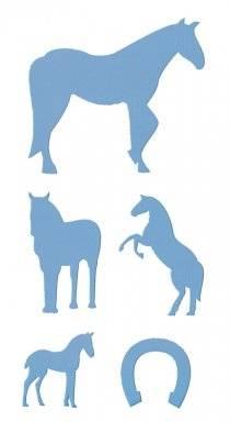 Sjabloon 6.8619.405 paarden | Hobby time