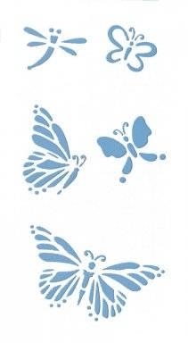 Sjabloon 6.8619.411 vlinders | Hobby time
