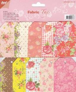 Fabric tags 6013/0781 | Joy