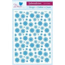 Embossalicious let it snow | Crafters companion