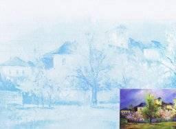 Bedrukt canvasboard 603 stadswal | Artigo