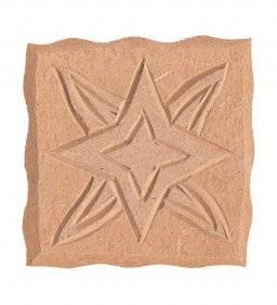 Mdf ornament 314 vierkant ster | Pronty