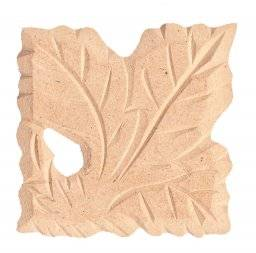 Mdf ornament 320 vierkant blad | Pronty