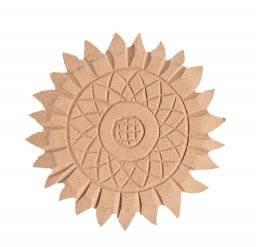 Mdf ornament 912 zonnebloem | Pronty