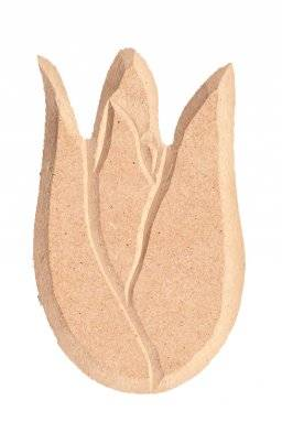 Mdf ornament 964 grote tulp | Pronty