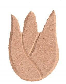 Mdf ornament 963 kleine tulp | Pronty