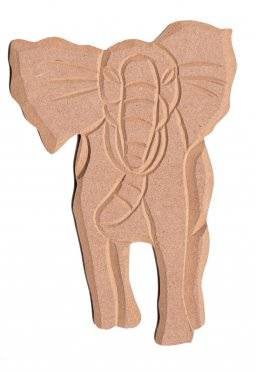 Mdf ornament 913 olifant | Pronty