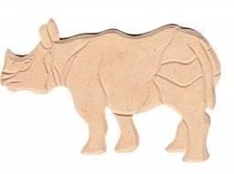 Mdf ornament 916 neushoorn | Pronty