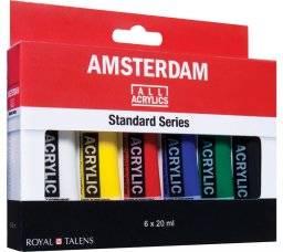 Amsterdam acrylverf set 6x20ml | Talens