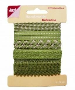 Lint handmade groen 6300/0331 | Joy