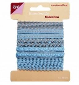 Lint handmade blauw 6300/0328 | Joy