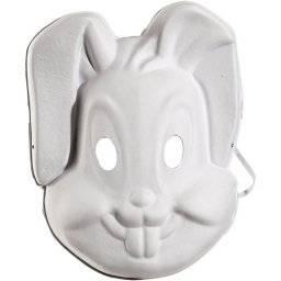 Masker wit konijn