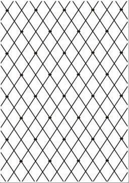 Embossing folder hsf012 lattice | Nellie snellen