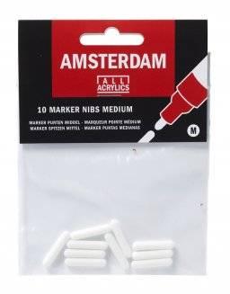 Amsterdam markernibs med. 10st | Talens