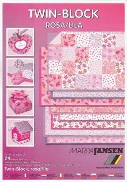 Twin block roze/lila 308.230 | Marpa jansen