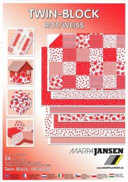 Twin block rood/wit 308.250 | Marpa jansen