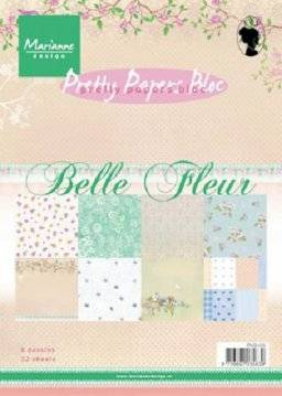 Pretty papers bloc 9105 belle | Marianne design