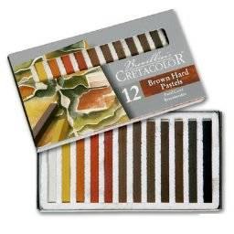 Pastel brown set 12 kleuren | Cretacolor