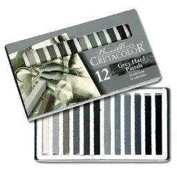 Pastel grey set 12 kleuren | Cretacolor