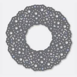 Stencil lace dies 3243 fleurs | Couture creations