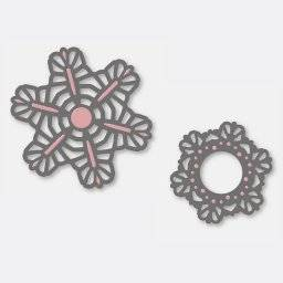 Stencil lace dies 3238 lily | Couture creations