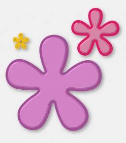 Stencil deco dies 3524 flowers | Couture creations
