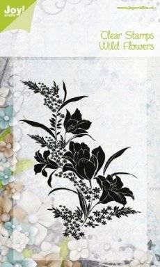 Clearstamp wild flowers 0095 | Joy