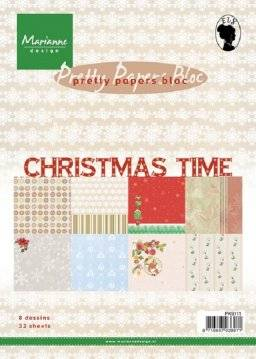 Pretty papersbloc 9111 christmas | Marianne design