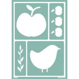 Softsjabloon 38-762 appel/vogel | Rayher