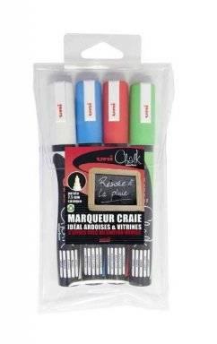 Chalk marker set PWE5M/4 ASSF15 | Uni